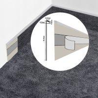 Teppichleisten Grau