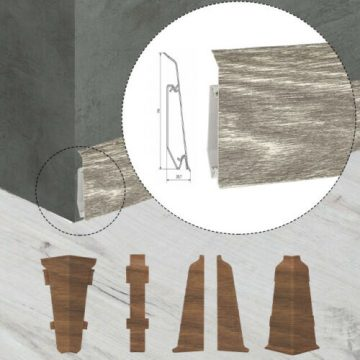 Sockelleisten Evo 70 mm
