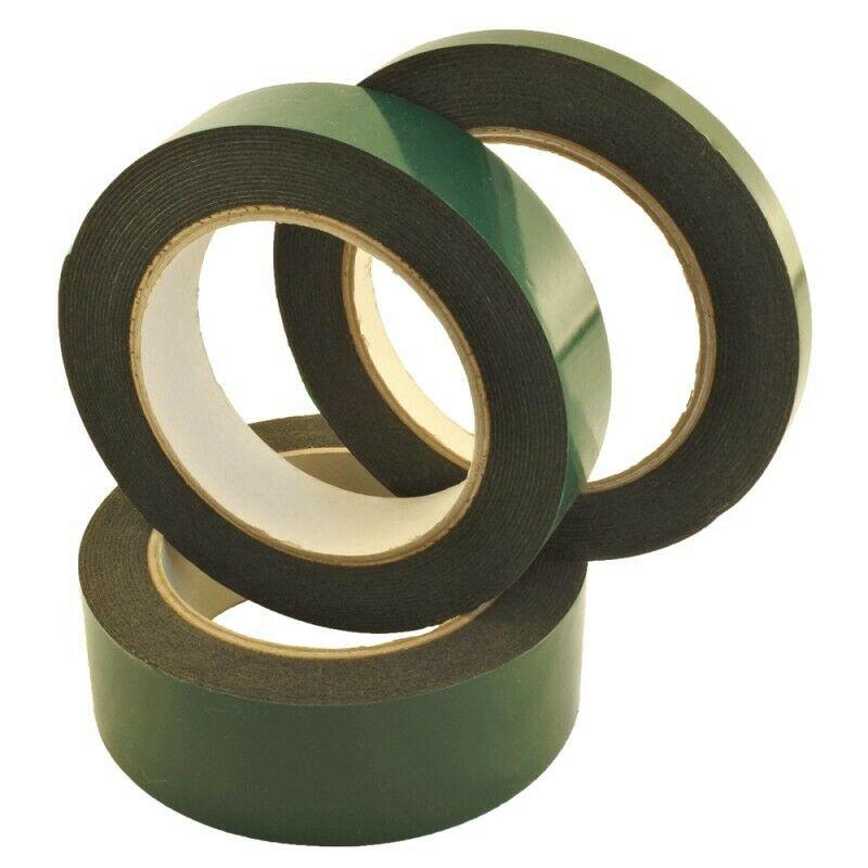 Doppelseitig Montageband Schwarz 6mm - 25mm 5m