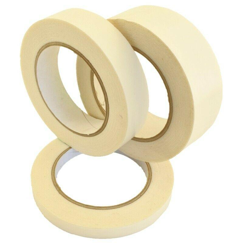Doppelseitig Montageband Weiß 6mm - 50mm 5m